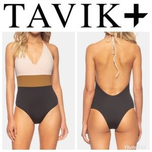 NWOT Tavik Chase Reversible One-Piece Swimsuit